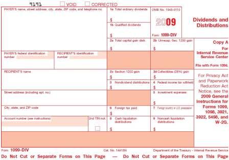 Magtax 1099 Div Information